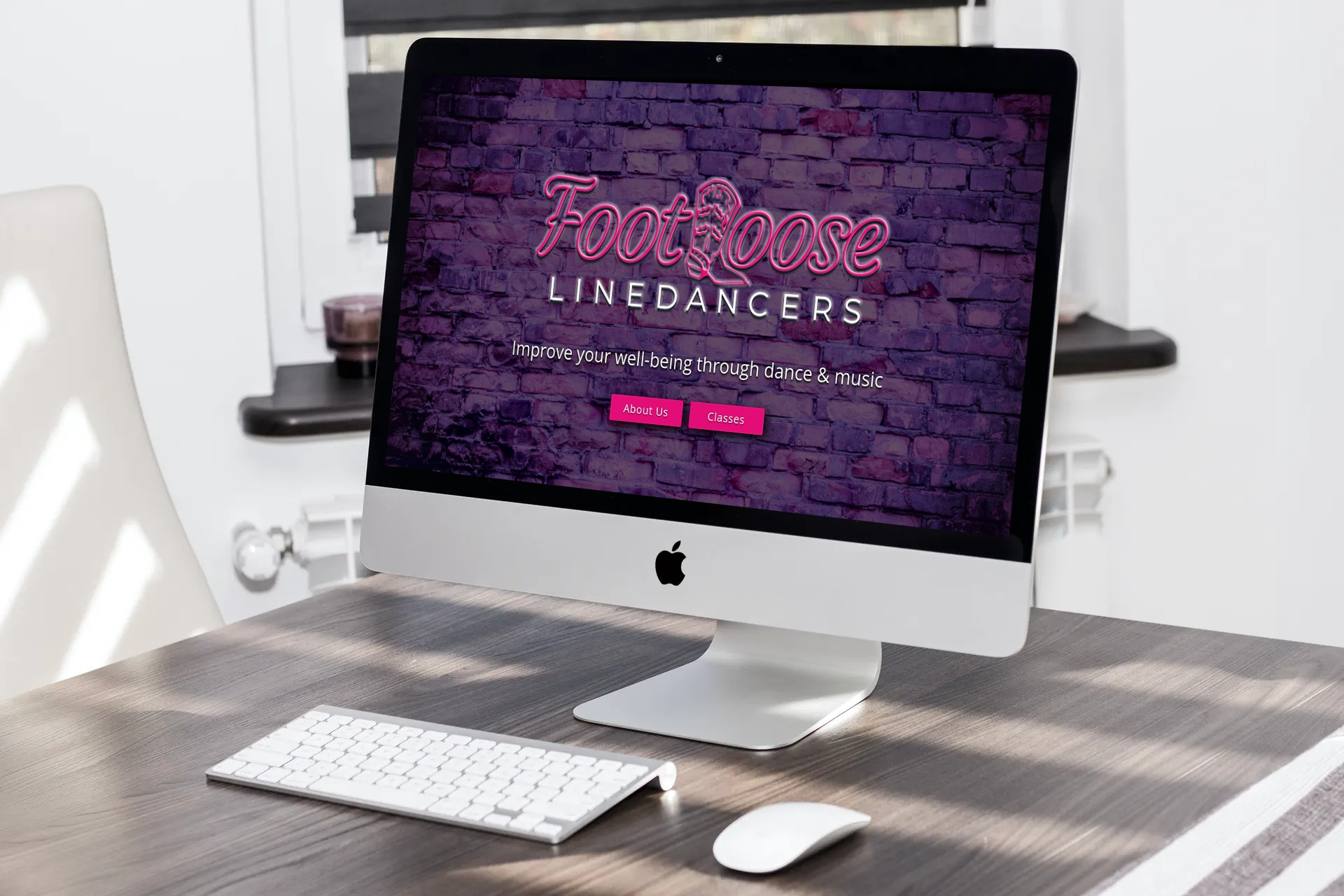 Footloose Linedancers Gunnedah Web Design