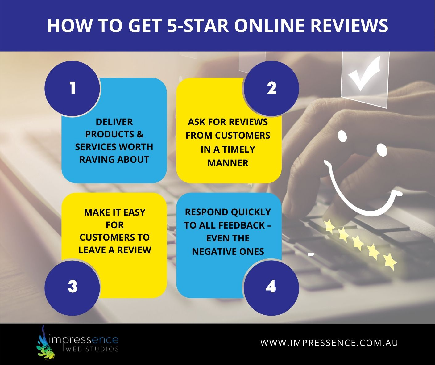 How to Get 5-Star Online Reviews